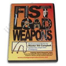 Fist Load Hand Held Martial Arts Karate Kung Fu Weapons Dvd Sid Campbell yawara