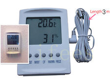 NEW Digital LCD indoor/outdoor Hygrometer Thermometer Temperature Humidity Meter