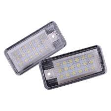 2x Error Free LED Kennzeichenbeleuchtung für AUDI Q7 A3 S3 S4 B6 A6 C6 A8 S8 ye