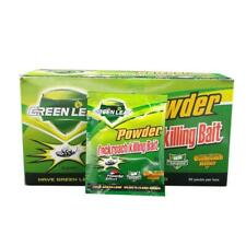 New 10 Packs Green Leaf Powder Cockroach Killer Bait Repeller Killing Trap Pest