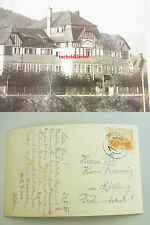 Echtfoto-AK 1931: WAIDHOFEN a.d.Ybbs, BUCHENBERGHEIM. Rar!