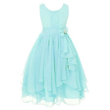 KIDS Pageant Birthday Flower GIRL Dress Wedding Bridesmaid Gown Formal Dresses #