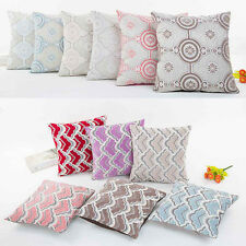 Luxury Pattern Print Boho Pillow Case Sofa Waist Throw Cushion Cover Home Decor