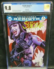 Suicide Squad #4 (2016) Bermejo Harley Quinn Variant Cover CGC 9.8 GG207