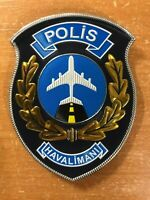 TURKEY TURKISH PATCH POLICE AIR SUPPORT UNIT - ORIGINAL! RARE! CURRENT! 3D