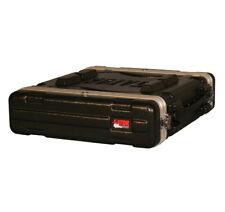 Gator Cases GR-2L 2U Professional Audio Console Travel Rack Case 19' Deep New