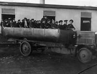 OLD PHOTO Troops In Lorry 1922 The Arrival Of The Curragh Stars