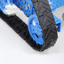 25*3cm Crawler Tank Track For Robotic Car Model Wheels Toy Model Hobby Diy
