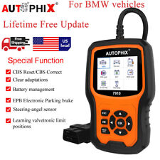 2020 OBDII Code Reader Diagnostic Tool Engine ABS SRS Autophix 7910 for BMW MINI