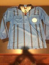 Final Decision Soccer Referee Jersey Blue Long Sleeve Mens Adult Small New Tags