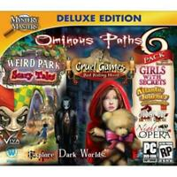 Mystery Masters Ominous Paths 6 Pack C.E. PC Games Window 10 8 7 XP Computer NEW