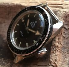 1960s Yema 333 feet diver manual stainless steel case
