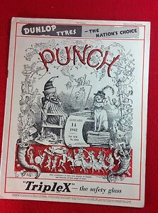 Vintage : PUNCH Magazine : 14th January 1942