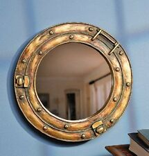 Nautical Ship Porthole Mirror Wall Decor