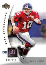2005 Upper Deck Sportsfest #NFL3 Eli Manning Giants 043/750