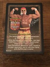 Hollywood Hulk Hogan Raw Deal Rare