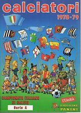 ALBUM CALCIATORI RISTAMPA L'UNITA' ANNO 1978-79