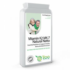 Vitamin K2 100mcg MK7 Natural Natto Joints Bones Support Vitamin K 120 Capsules