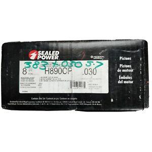 Speed Pro H890CP 030 pistons SB Chevy 350 383 Stroker New
