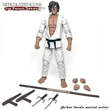 "SHM: Articulated Icons Feudal Series Shoken (Heroic Martial Artist) 6"" figure"