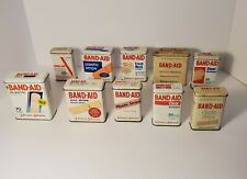 Lot Of Band Aid Tins