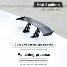 "6.7"" Universal Mini Spoiler Auto Car Tail Decor Spoiler Wing Carbon Fiber Black"