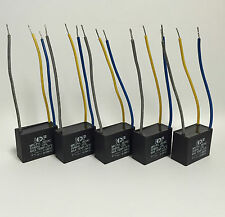 5pcs Capacitor 3 Speed Controller 6uf & 3uf 250v suits fans Clipsal MPC-PVL
