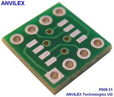 10 x  SOIC8 (4,9mm x 3,9mm) Adapter P009.31