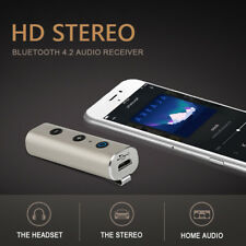Bluetooth Transmisor Receptor Adaptador de Audio Estéreo Inalámbrico para Coche Aux Regalo