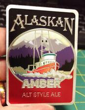 Alaska Magnet - Alaskan Amber Alt Style Ale Magnet - Foil style magnet - Nice!