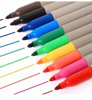40 Pack Permanent Marker Pens Assorted Multi Colour Sharpie Fine Point Tip New