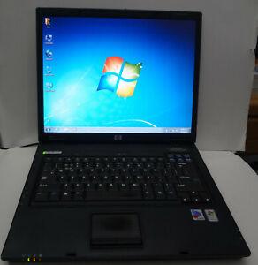 """HP NX6110 15"""" Laptop 40G 1GB Intel 1.73Ghz DVD WiFi Windows XP Pro Key Charger"""