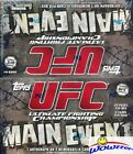2010 Topps UFC Main Event MASSIVE 24 Pack Factory Sealed Retail Box-AUTO/RELIC