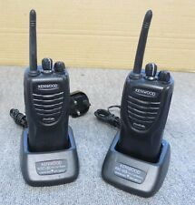 2 x Kenwood ProTalk TK-3301 Analogue Transceiver Two Way Radio Walkie Talkie