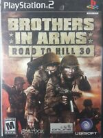 Brothers in Arms: Road to Hill 30 (Sony PlayStation 2, 2005) - PS2 COMPLETE