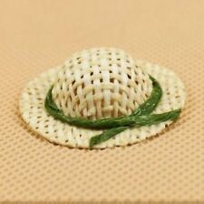 Princess Doll Straw Hat Dollhouse Miniature Re-ment 1:12 Scale Fairy Doll Home A