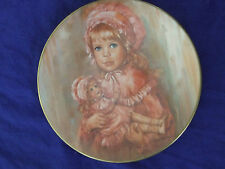 Vintage 1976 Gorham Sugar&Spicecollection Collectable Plate Great Baby Girlgift