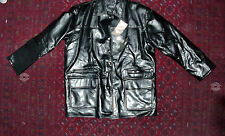 GIANNI VERSACE HAND MADE IN ITALY LEATHER JACKET AUTHENTIC  SIZE L