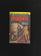 SPIDERWEB.ROBERT BLOCH.1954.SIGNED IST ED.ACE DOUBLE-D 59. NICE COPY.
