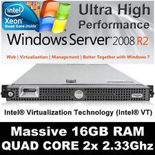 DELL PE SERVER 1950 II 2x 2.33GHZ 4-CORES  INTEL E5345   16GB Memory 146 HDD