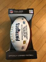 New England Patriots Autograph Ball