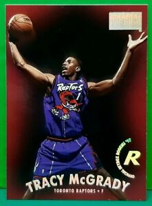 Tracy Mcgrady rookie card 1997-98 Skybox Premium #79