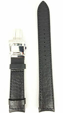 Original Seiko Premier SNP015P1 Watchband Black Leather Strap 4LA8JB 7D46 0AB0