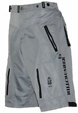 Men's Gray Black MTB  Baggy Padded Mountain Bike Shorts - 6 Pockets XX Large