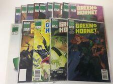 THE GREEN HORNET #1-14 (NOW COMICS/1989/PULP HERO/KATO/0218333) FULL SET OF 14