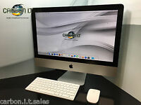 "Refurbished Apple iMac 12.1 21.5"" Intel i5 Quad 2.50Ghz 500GB 8GB  OS X 10.12"