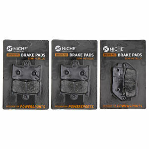 Brake Pad Set for Victory Cross Country Hammer Roads Complete Semi-Metallic