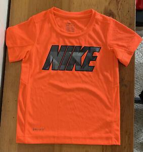 Nike Boys Orange  Shirt Size 4 XS