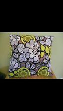 Vera Bradley Toss Pillow Handmade Citron Fabric Chamomile Scented Decor Travel