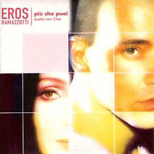 ★☆★ CD SINGLE Eros RAMAZZOTTI & CHER	Piu che puoi CARD SLEEVE 2 Tracks	NEW